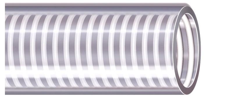 Manguera de Grado Alimenticio Food Krystal | Manguera de PVC transparente para succión y descarga de alimentos y bebidas