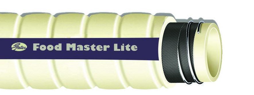 Manguera de Grado Alimenticio Food Master® Lite™ | Manguera para alimentos y bebidas aceitosas o grasosas